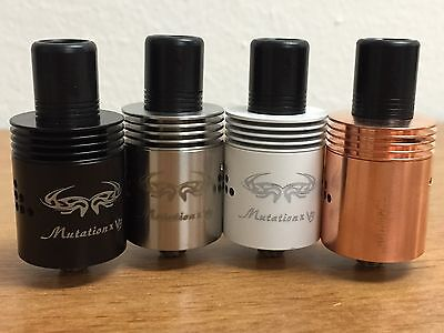 MUTATION X V3   AUTHENTIC   Black, Stainless, Copper & White   *SHIPS FREE*