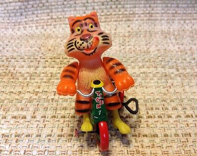 Wind Up Tiger On Tin Tricycle, Japan Marx Toy