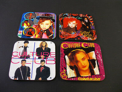 Culture Club Boy George Album Cover Great New COASTER Set