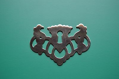 Escutcheons Keyhole Covers Antique Style Chippendale Victorian Solid Brass