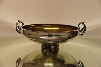Gorgeous European Large Sterling Silver Centerpiece Made Extremely Well