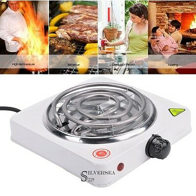 Freestanding Electric Portable Cooktop, Single Stove Hot Plate Burner 1000W