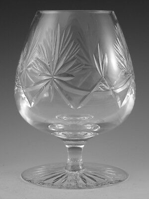 EDINBURGH Crystal - STAR of EDINBURGH - Brandy Glass / Glasses - 5""