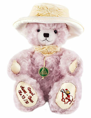 "HERMANN SPIELWAREN ""Royal Ascot Bear"". Very Limited Edition. Brand New with Tags"