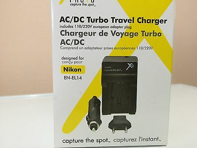 Ac/Dc Turbo Travel Charger
