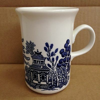 Churchill England Blue Willow Cup Blue and White