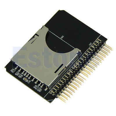 HOT! SD/Micro sd Memory Card to 2.5 44pin IDE Adapter Reader For Laptop