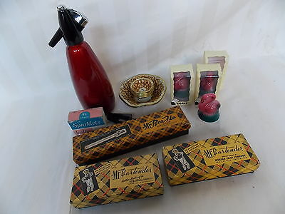 Vintage Retro Atomic Bar Items Syphon,pourers And More In Original Boxes