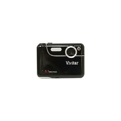NEW GENUINE Vivitar 5018 5.1 Megapixel Compact Digital Camera-Black RETAIL
