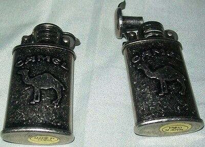 Set of 2 Camel Lighters, tobacco, Collectibles