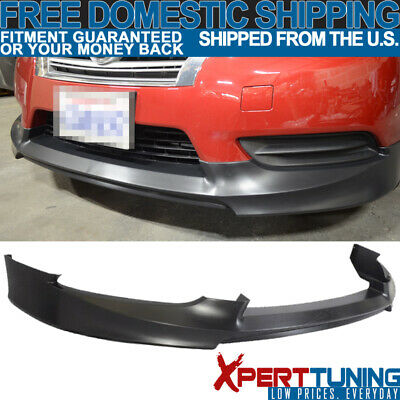 Front Bumper Lip Spoiler Body Kit PP OE Style Fit For 13-17 Nissan Sentra