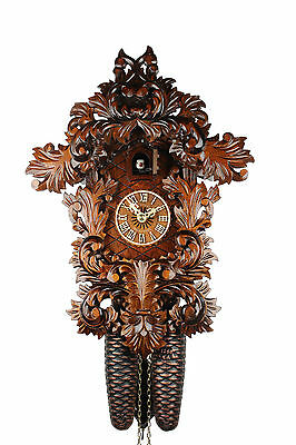 Adolf Herr Cuckoo Clock - The Small Baroque Clock  AH 210/1 8T NEW