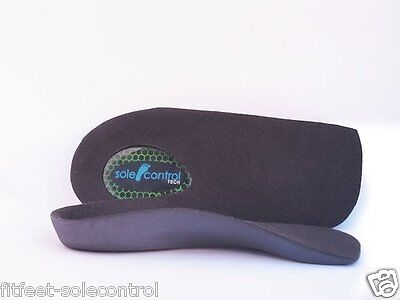 Sole Control 3/4 length slim fit Tech Orthotic Insoles