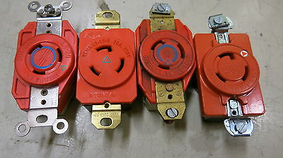 L6-20RIG 20 Amp 250 Volt 3 Wire Twistlock Isolated Ground Receptacle
