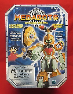 MEDABOTS Metabee Super Electronic Robot Figure *NEW IN SEALED BOX*