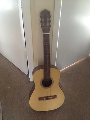 Vintage Alex Parlour Acoustic Guitar Made in W Germany Rare