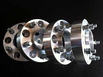 """2002 - 2011 Dodge Ram 1500 2wd and 4wd 4 Hub Centric Wheel Spacers 1.25"""" 5x5.5"""