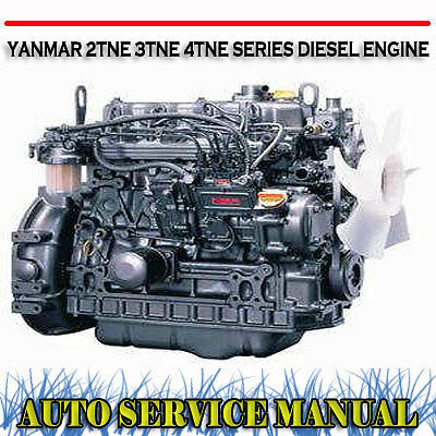 Yanmar 2Tne 3Tne 4Tne Series Diesel Engine Workshop Service Manual ~ Dvd