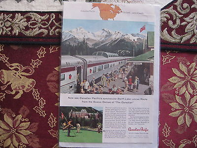 RAILROAD ADVERTISEMENT, CANADIAN PACIFIC