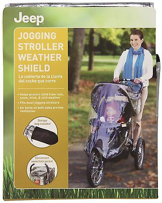 Jeep Jogging Stroller Weather Shield, New, Free Shipping