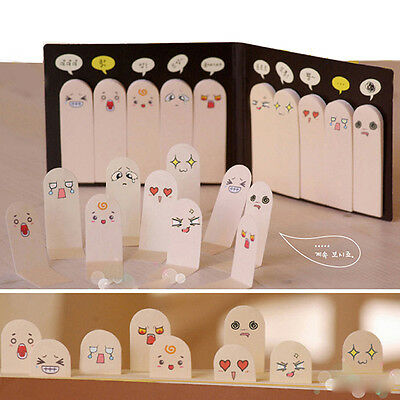 Pretty 200 Pages Ten Fingers Sticker Point Bookmark Flags Memo  Notes pads CN