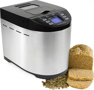 Andrew James Bread Maker Machine Automatic Breadmaker 12 Cycles + Gluten Free