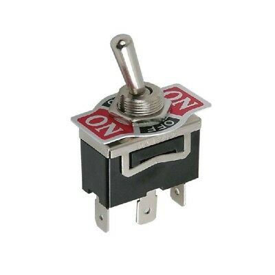heavy duty on  off  on biased off spring loaded flick switch Miniature Toggle Switch SPDT SPDT Toggle Switch On Mon
