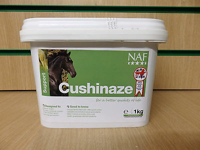 NAF CUSHINAZE HORSE/PONY SUPPLEMENT - Helps gut and horses with Cushings - 1KG
