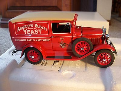 DANBURY MINT 1931 BUDWEISER Delivery Truck  1:24 Die Cast  Mint Cond