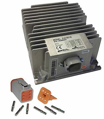 Sure Power 21015C10 - 24V to 12V 15A Converter w/ Switched Output