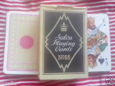 Coeur #66 Vintage Salon 52 Playing Cards - Rare, Made in East Germany DDR GDR