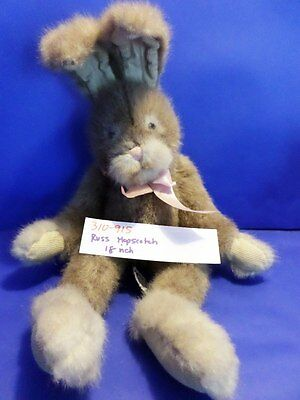 Russ Hopscotch the Brown Rabbit/Bunny with Pink Bow(310-915)
