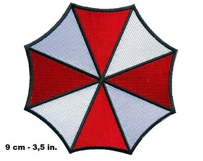 Resident Evil The Umbrella Corporation - Iron on or Sew on Badge Patch