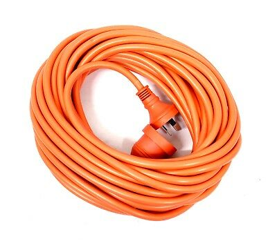Heavy Duty 15M Extension Lead 15 Amp Lead With 10 Amp Socket 240 Volt