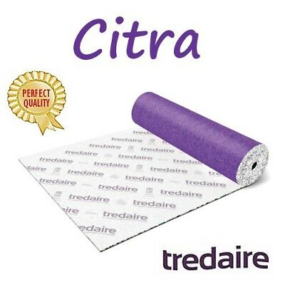 cheapest price TREDAIRE CITRA 11mm carpet underlay FREE DELIVERY
