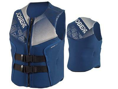 Jobe Progress Segmented Vest Mens Buoyancy Aid Blue Jetski Wakeboard Waterski
