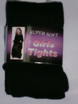 GIRLS BLACK SCHOOL TIGHTS from 4 to 13 years