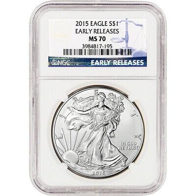 2015 American Silver Eagle - NGC MS70 - Early Releases