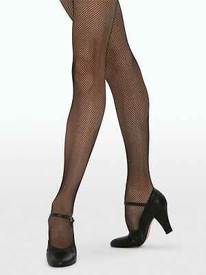 Fishnet Tights BLACK OR TAN Stockings Dance Revolution Brand Adult/Child