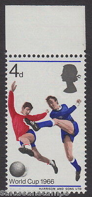 GREAT BRITAIN - 1966 4d. World Cup Football - Red Shift Variety UM / MNH