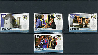 Barbados 2014 MNH West Indies University Cave Hill 50th Anniv 4v Set Education