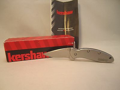 Kershaw Stainless Chive Assisted Opening Pocket Knife 1600 Ken Onion Design