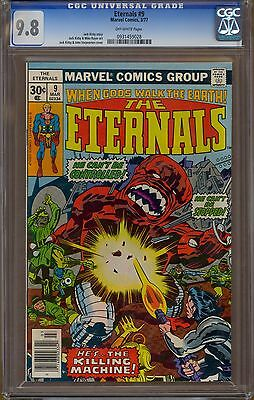 Eternals #9 CGC 9.8 OW Pages