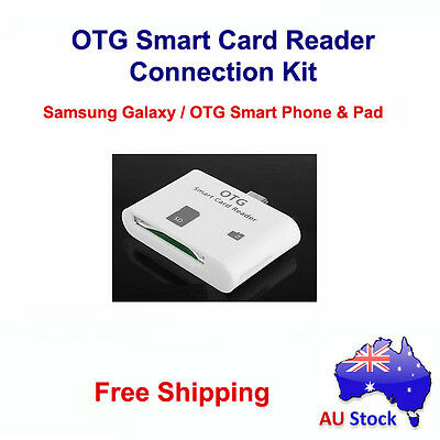 Micro USB OTG Smart Card Reader Connection Kit for Samsung Galaxy S3 S4 Note2 HF
