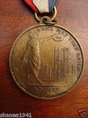 1937 - Coronation of King George VI & Queen Elizabeth Medal