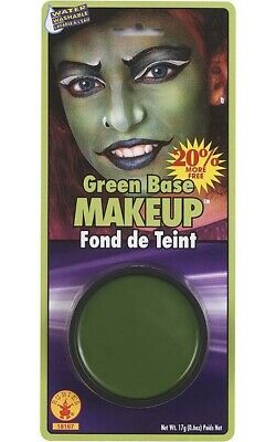Green Base Grease Make Up Halloween Costume Accessory