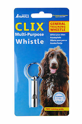 Clix Multi Purpose Dog Puppy Whistle Good All-Round Whistle Helps with Training