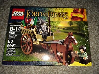 New In Box Lego Lord Of The Rings 9469 Gandalf Arrives RETIRED NLA