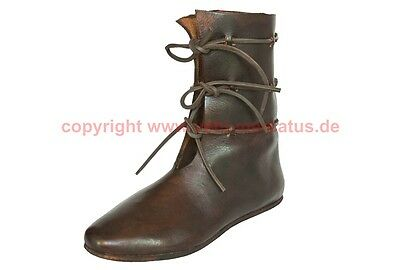 Mittelalter Stiefel Schuhe 12. Jhd. Maß Schuh medieval custom shoes reenactment