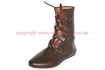 Mittelalter Stiefel 12-13 Jhd. Maß Schuhe medieval custom shoes reenactment
